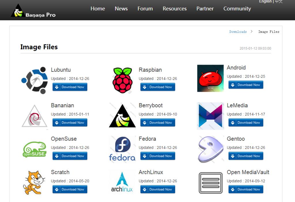 شرح خطوات اعداد وتحميل نظام التشغيل لجهاز بنانا باي Lubuntu for Banana Pi